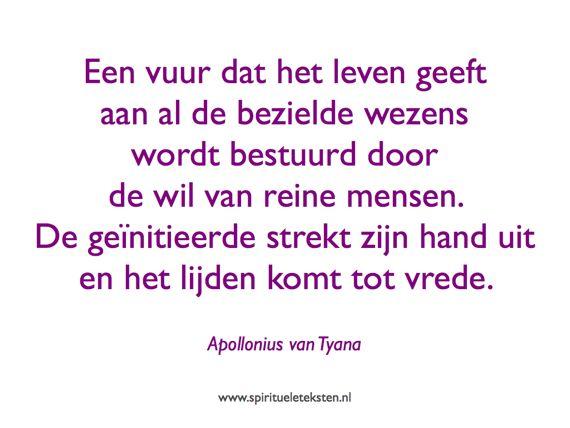 Nuctemeron citaat Apollonius van Tyana spirituele teksten