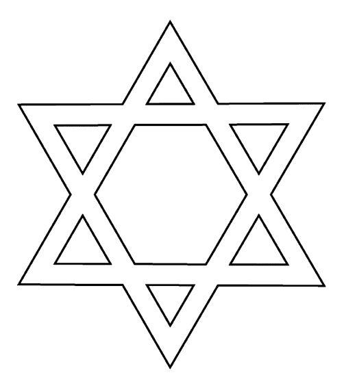 zespuntige ster davidster zegel van Salomo