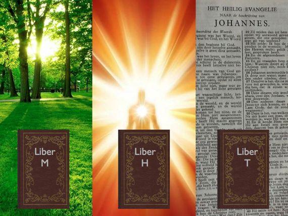 Drie boeken uit de Fama Fraternitatis het boek M het boek H en het boek T liber Mundi liber Homo liber Theos Christiaan Rozenkruis