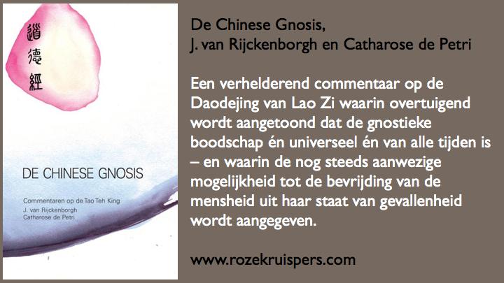 De Chinese gnosis door J van Rijckenborgh en Catharose de Petri