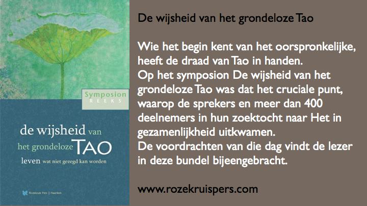 De wijsheid van het grondeloze Tao symposionbundel