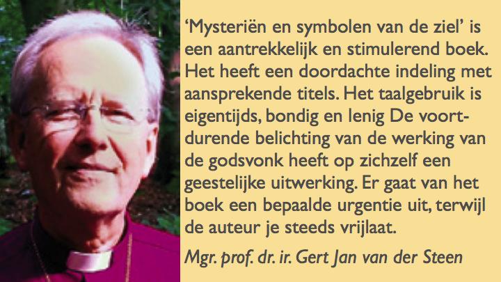 Recensie Mysterien en symbolen van de ziel door bisschop mgr prof dr ir gert jan van der steen in magazine reflectie 3