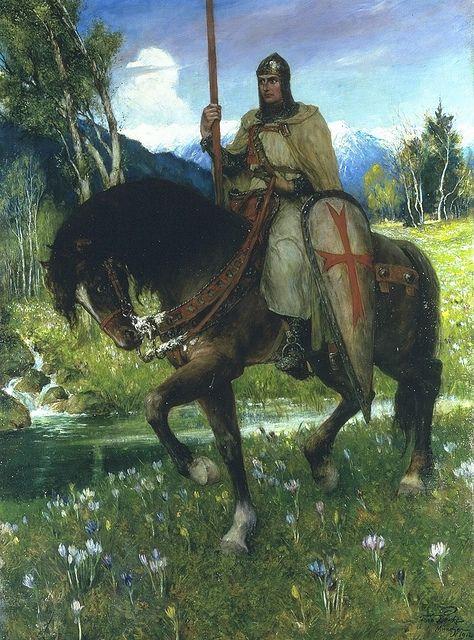 Ferdinand Leeke . Parsifal en de queeste naar de heilige graal