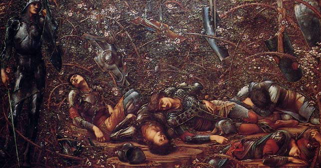 The sleeping beauty Edward Burne Jones 2