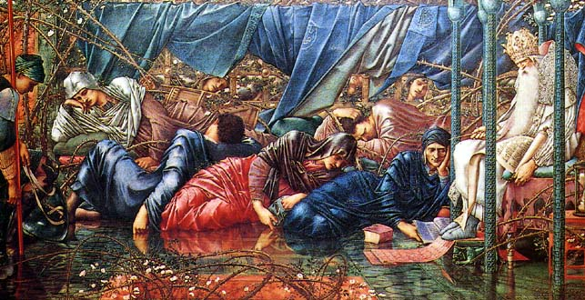 The sleeping beauty Edward Burne Jones 4
