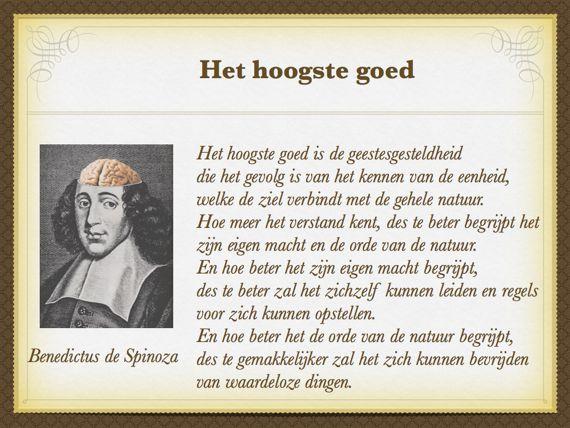Citaten Spinoza : Filosofie spirituele teksten