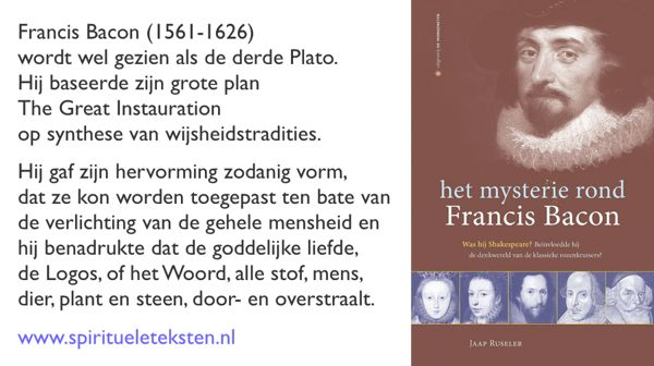 francis bacon and plato essay Francis bacon — 'salomon saith, there is no new thing upon the earth so that  as plato had an imagination, that all knowledge was but remembrance so sal   francis bacon, the essays read more quotes from francis bacon share this .